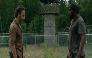 Rick dan Tyreese dalam The Walking Dead 4.3