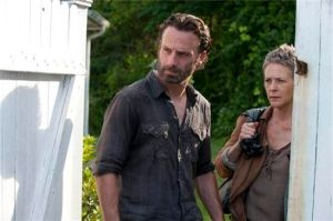 Rick dan Carol - The Walking Dead - Indifferent